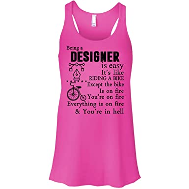 c529ab6c My Designer Racerback Tank Top, Being A Designer T Shirt - Racerback Tank (S