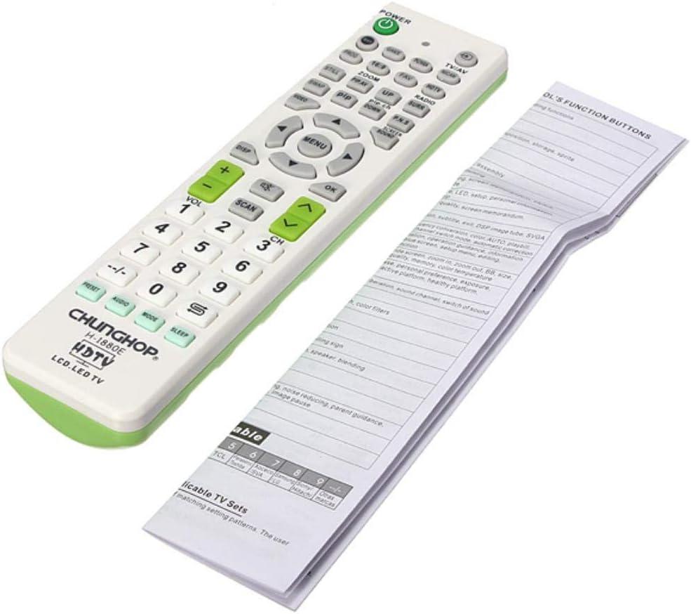 Yongse CHUNGHOP H-1880E Mando a Distancia Universal para LED/LCD TV: Amazon.es: Electrónica