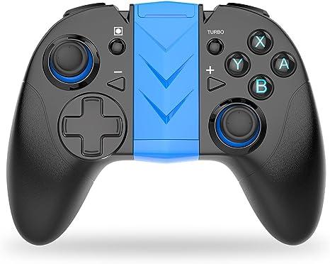 BEBONCOOL Controlador Nintendo Interruptor, Controlador Bluetooth ...