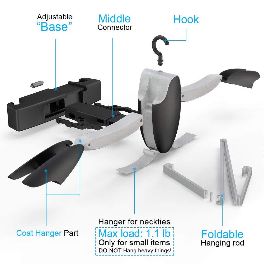KOLLIEE Car Headrest Coat Hanger Back Seat Coat Hanger Headrest Car Suit Hanger for Coat Jacket Car Jacket Hanger