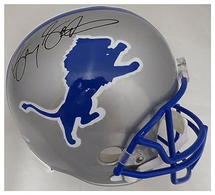 241403a4c40 Barry Sanders Autographed Signed Detroit Lions Full Size Helmet - Beckett  Authentic