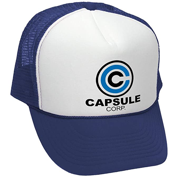 CAPSULE CORP - dragon evil empire goku ultimate - Unisex Adult Trucker Cap  Hat 5aaf046afea