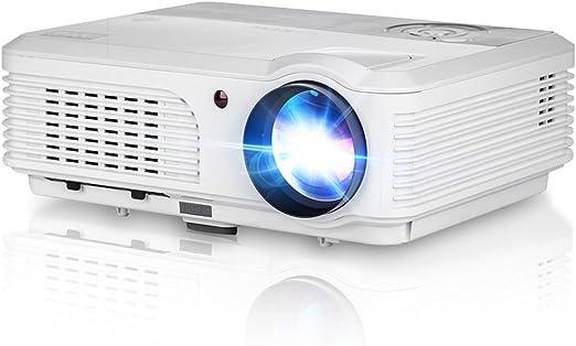 Mini proyector, proyectores LED portátiles con entrada USB para PC ...