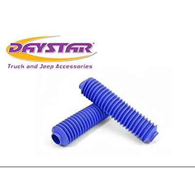 Daystar, Universal Pair Full Size Shock Boots with Zip Ties in Shock Therapy Bag, Royal Blue, KU20002RB, Made in America: Automotive