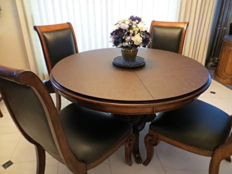 Superb Custom Made Table Pads For ROUND DINING ROOM TABLE, Custom Made With BONUS  TABLE RUNNER