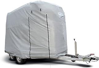 Original CAPA Schutzhaube in grau für 2er Pferdeanhänger Pferdetransporter Pferdehänger als Überzug Schutz Cover Schutzhülle Garage Schutzdach Typ HT-01F