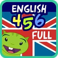 Aprender inglés - English 4, 5, 6 años