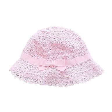 ibeybear Children s Hats Newborn caps Baby 6 Months to 6 Years Old Hat (Pink  6b0d916442ad