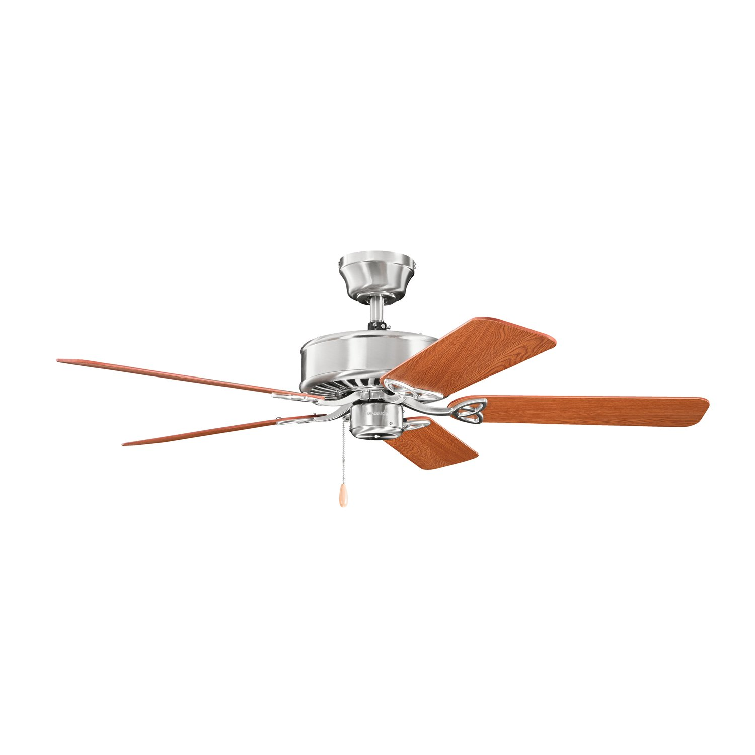 Kichler Lighting 330100BSS Renew 50IN Energy Star Ceiling Fan, Brushed Stainless Steel Finish with Reversible Blades