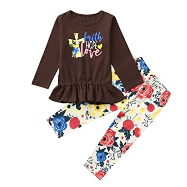 6624ee733 Amazon.com  Outtop(TM) Baby Long Sleeve Toddler Kids Boys Girls ...