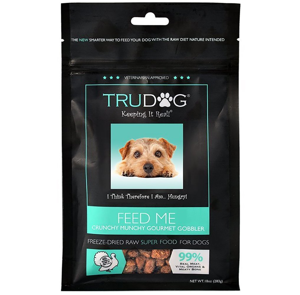 TruDog: Feed Me: Freeze Dried Raw Superfood - Real Meat Dog Food - Optimal Canine Health and Natural Longevity - All Natural - Balanced Nutrition - No Filters, No Grain - Just Add Water by TruDog