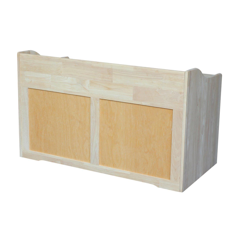 International Concepts Unfinished Storage Box, 38(W) x 419(L) x 23(H) by International Concepts (Image #2)