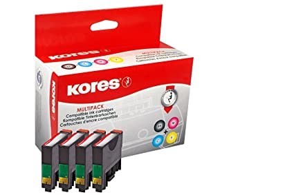 Kores Multi-Pack Tinte für EPSON Stylus S22/SX125: Amazon.es ...