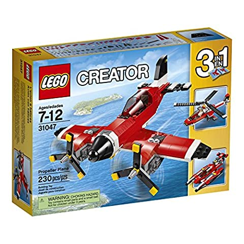 LEGO Creator Propeller Plane 31047 Building Toy, Vehicle Set - Creator Building Set