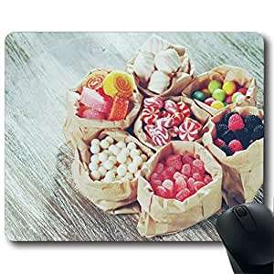 """Food Landscape Photography Customized Rectangle Non-Slip Rubber Mousepad Gaming Mouse Pad 9""""X7.4"""""""