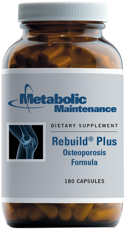 Metabolic Maintenance - Rebuild Plus - Optimal Bone Support Formula, 180 Capsules by Metabolic Maintenance (Image #1)