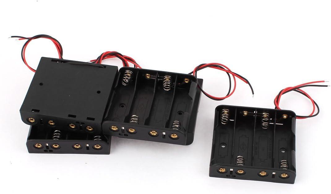 sourcingmap® 5 pcs Contenedor de plástico duro caja soporte Caja ...