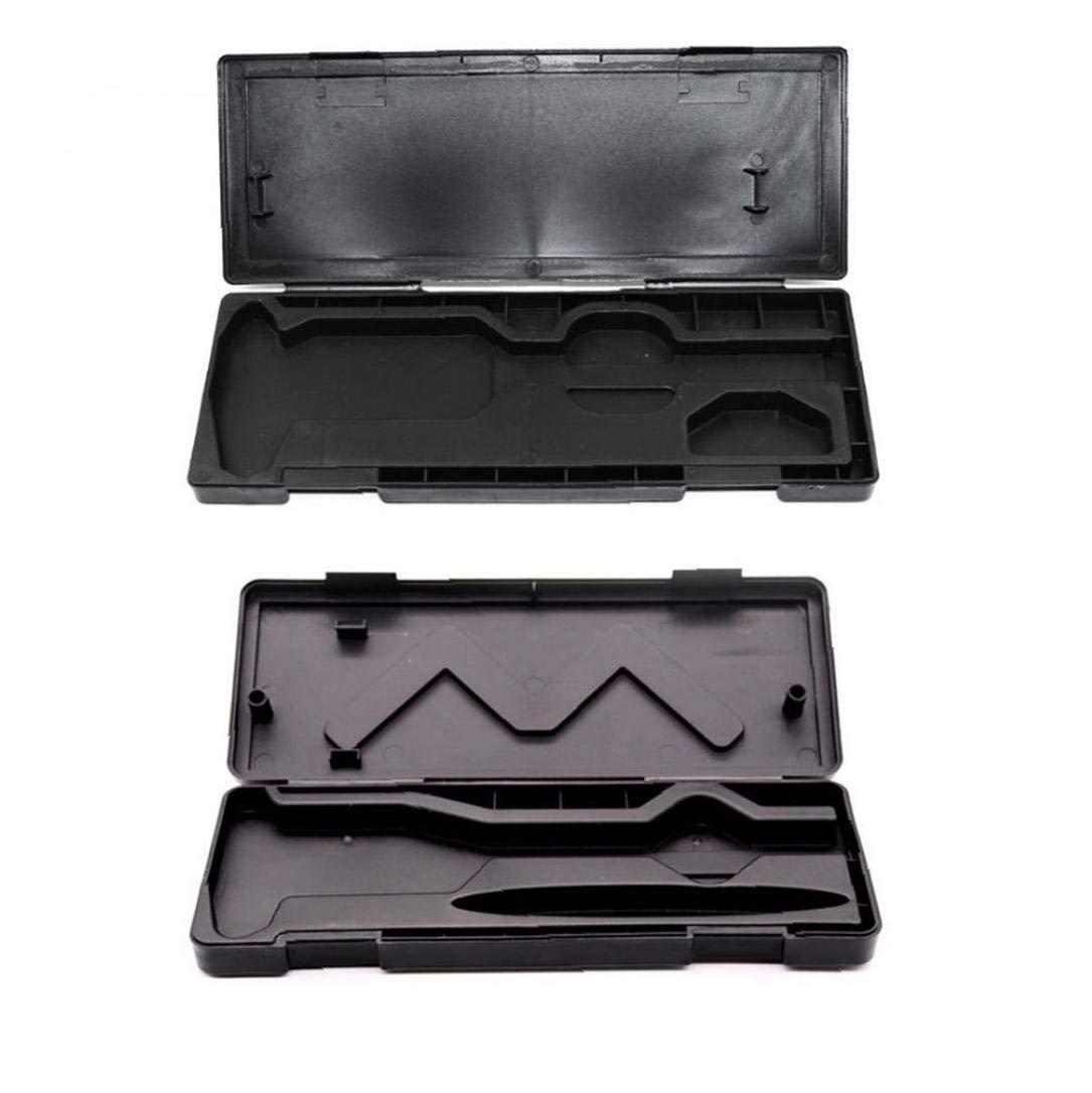 Portable Dial Caliper Box Multi Function Storage Box Electronic Digital Vernier Caliper Tool Measuring Tool 0-150mm Random Type
