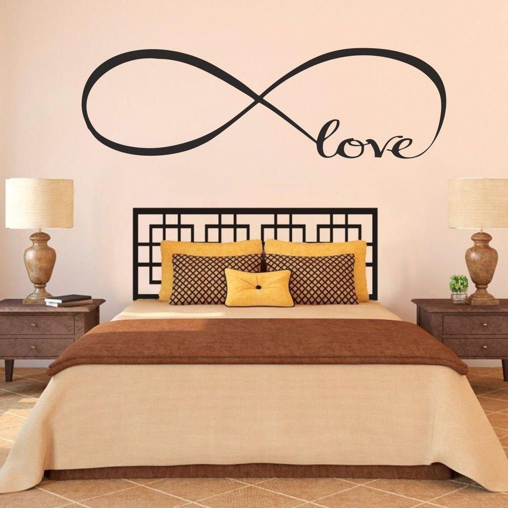 Quality Matt Vinyl Decal Wall Art Family Love Bedroom Lounge Wall Sticker ..