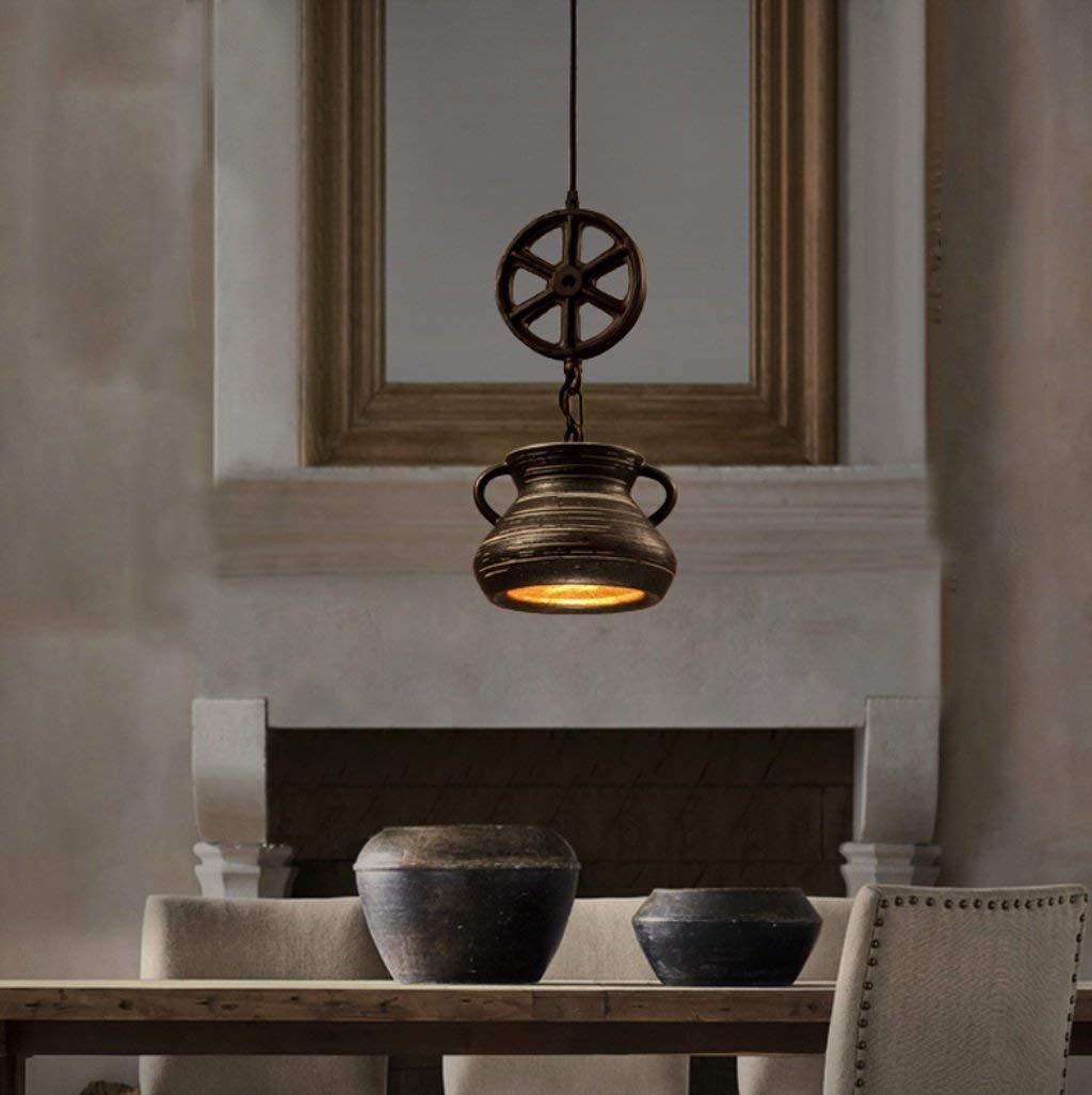 Ein kronleuchter - minimalistisch wie Kronleuchter Restaurant kreative Persönlichkeit retro Bar der Keramischen Kronleuchter (in der Form  (a)