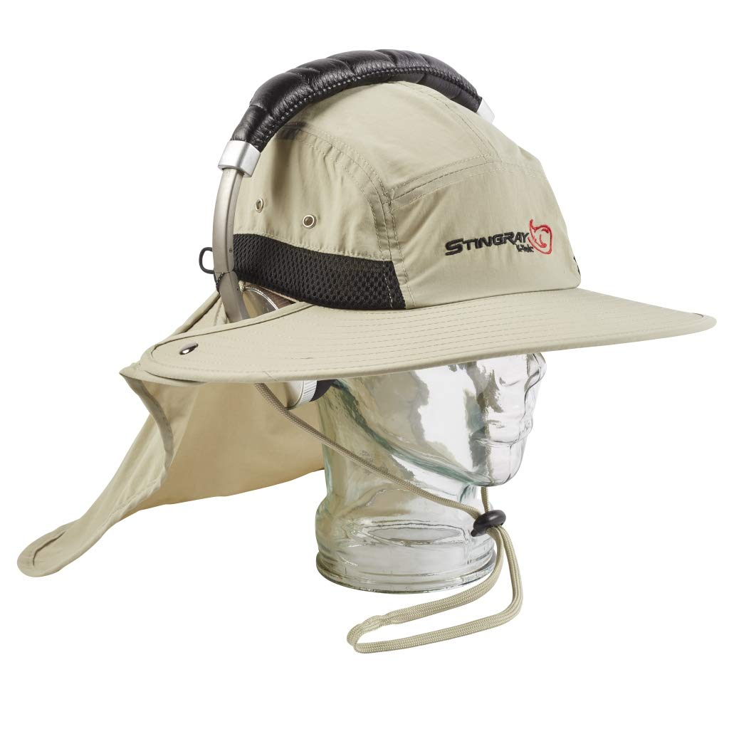 KSH1 - Stingray Audio Sun Hat for headphones and ear muffs