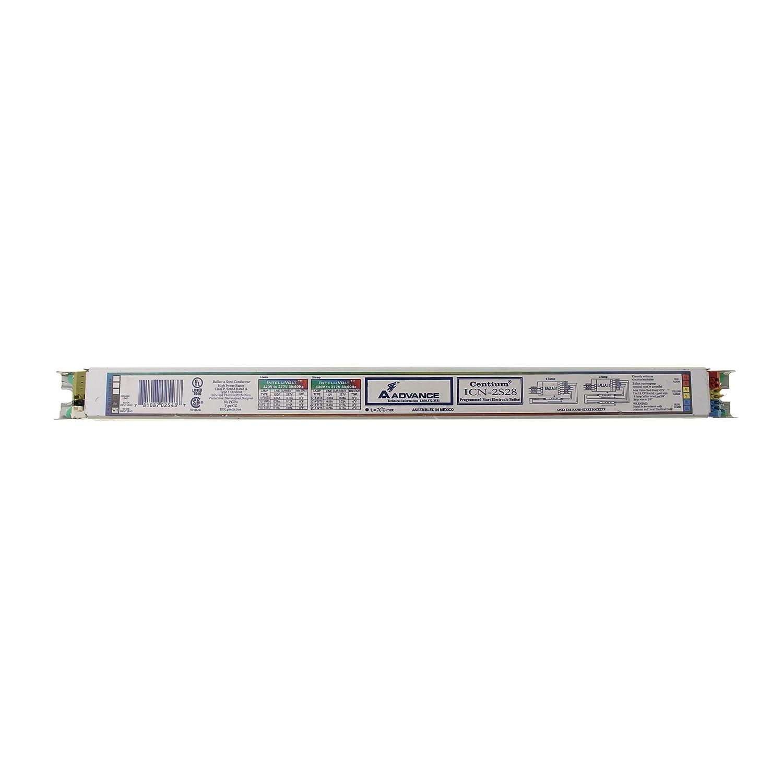 Advanced ICN-2S28 Programmed Fluorescent Ballast, 2 Lamp, T5, 32W, 120/277V Philips Group