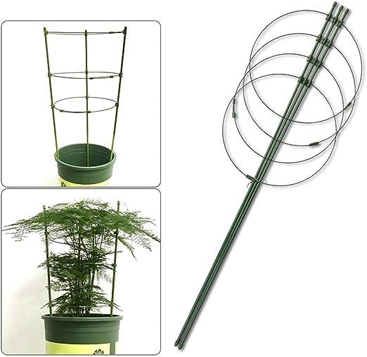 Yunhigh Planta de Jardín Anillos de Soporte para Plantas en ...
