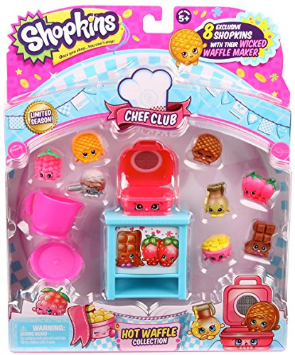 Shopkins Hot Waffle Collection - Chef Club - Limited Season