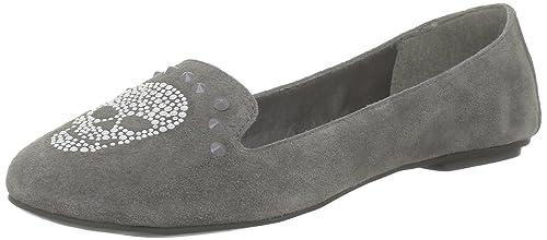 Colors of california Hcsloaf3 Hcsloaf3_Gris (Grey) - Mocasines de ante para mujer, color gris, talla 36: Amazon.es: Zapatos y complementos