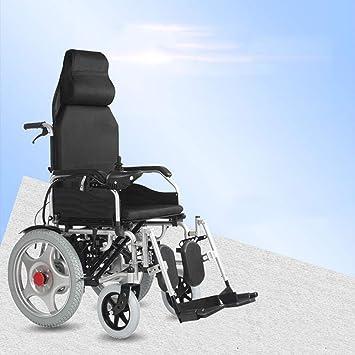 Amazon.com: Silla de ruedas eléctrica con mando a distancia ...