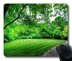 Mouse Pad Park Landscape Desktop Laptop Mousepads Comfortable Office Mouse Pad Mat Cute Gaming Mouse Pad
