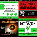Time Management & Productivity +: Motivational & Inspirational Audio Books Audiobook by King Beast, James Allen, Knight Writer Narrated by Knight Writer, Patrick Jonathan, Dave Wright, King Beast