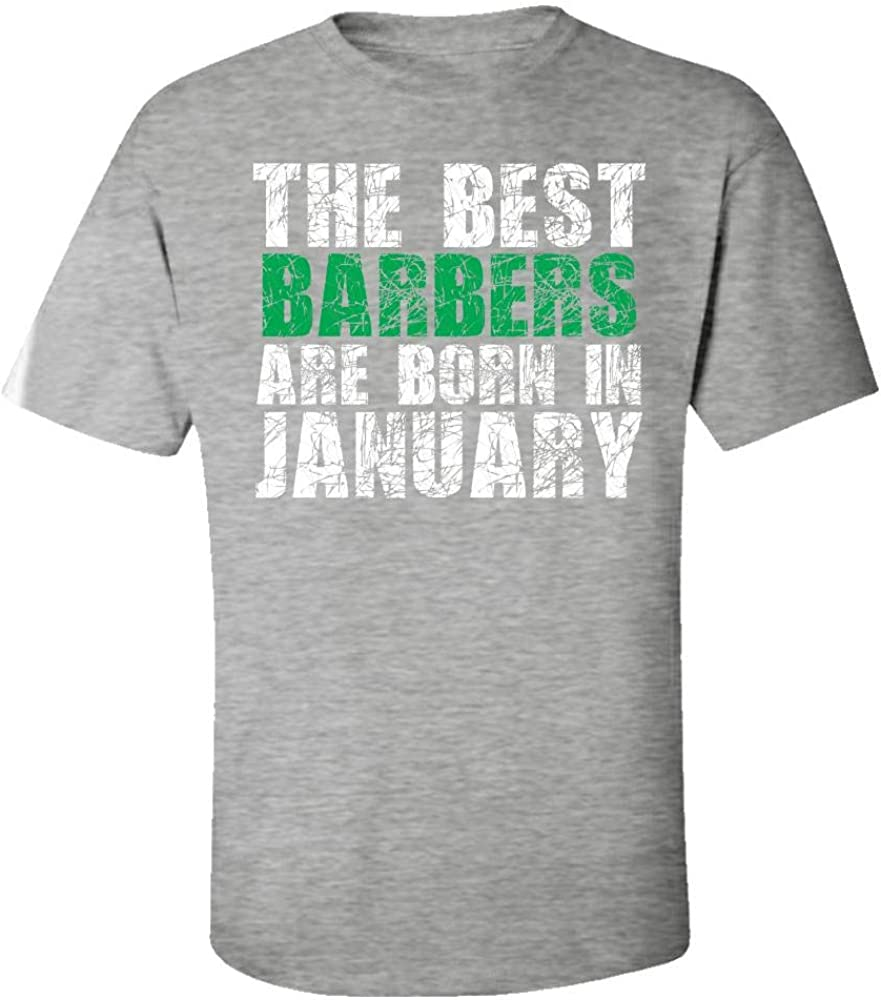 The Best Barbers are Born in January Cool Creative Design Kids T-Shirt