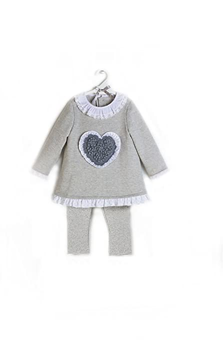 Chándal niña bebé BELÉN _ chandal niña bebé gris, chandal niña ...