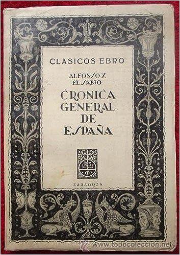 Cronica general de España: Amazon.es: Alfonso X: Libros