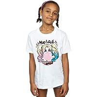 DC Comics Niñas Harley Quinn Mad Love Camiseta