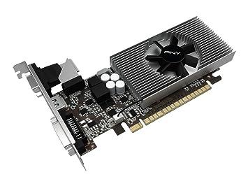 PNY VCGGT7301D5LXPB GeForce GT 730 1GB GDDR5 - Tarjeta ...