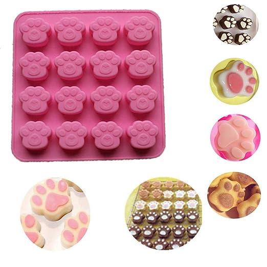 2 moldes de silicona para galletas de chocolate con diseño de ...