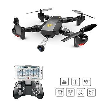 SHIRUI Quadcopter Drone 2.4 GHz Rollo de función de giro de 360 ° cámara WIFI FPV