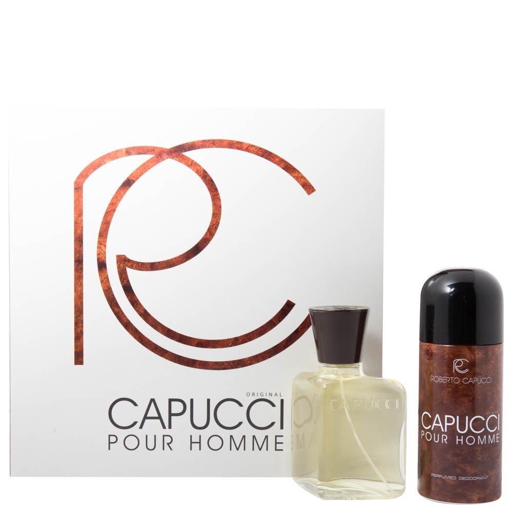 Capucci Pour Homme Eau de Toilette 100 ml Spray + Deodorante Vapo ml. 150 extrafragrance srl