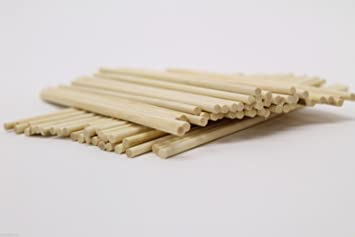 Classikool 230mm X 5mm Round Wooden Sticks For Crafting And Food Use X50 Free Uk Post