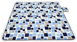 Tapis D'extérieur Pour Tapis De Pique-nique Tapis Colorés élargi En Tissu De Pique-nique élargi(150cm x 200cm,Blue)