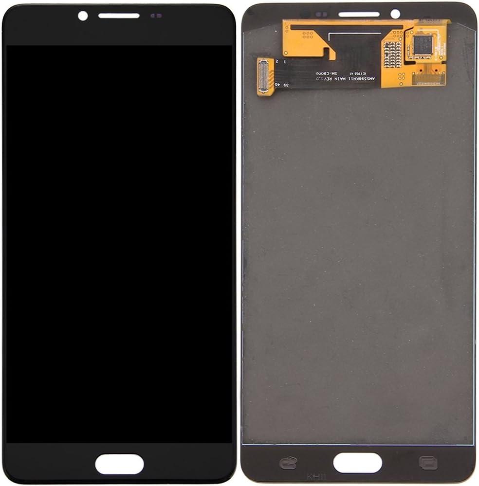 YEEWEN Spare Piezas de Repuesto para la Pantalla LCD Samsung Galaxy C9 Pro / C9000 + Asamblea de digitalizador de Pantalla táctil (Color : Negro): Amazon.es: Electrónica