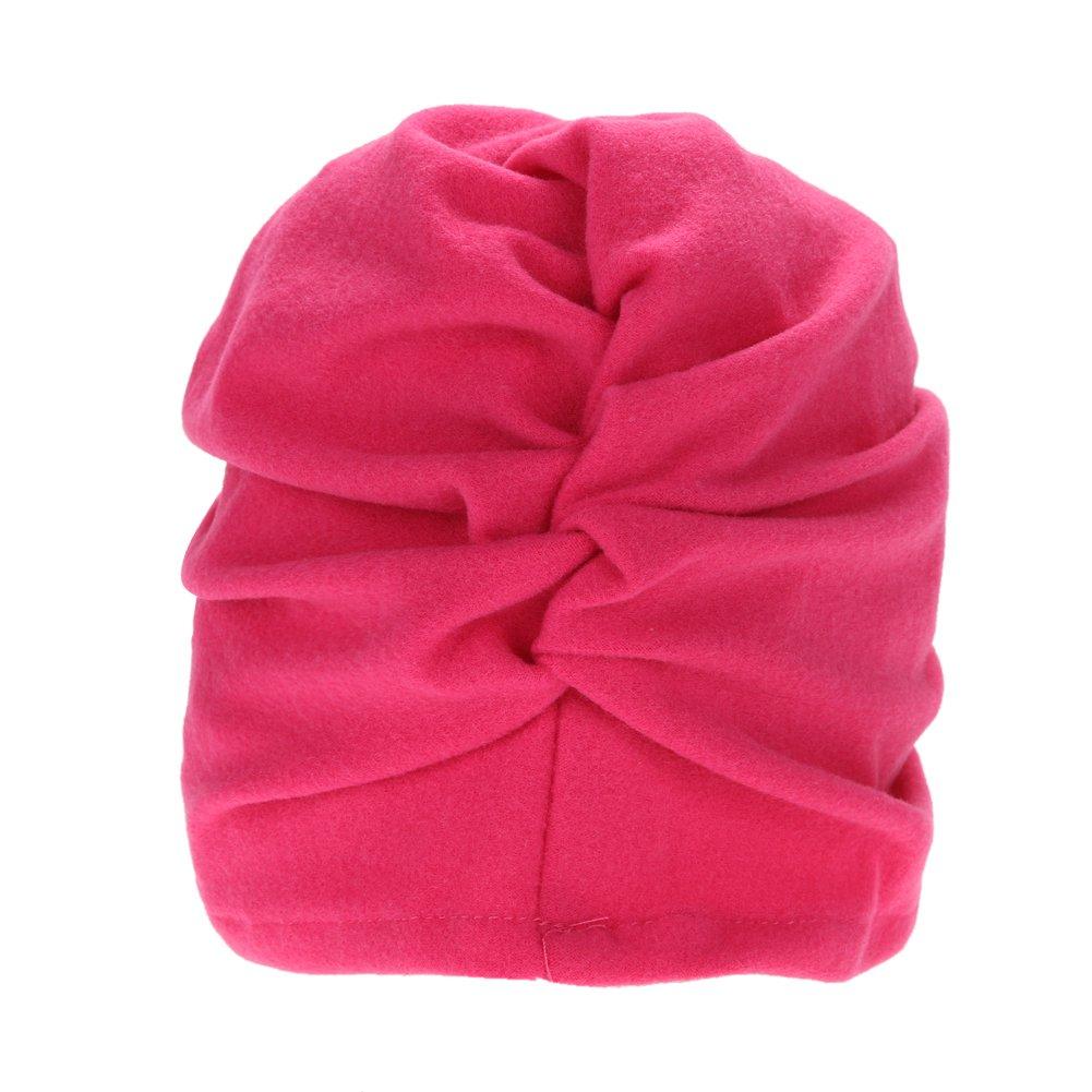 c471fddfad4 Domybest Newborn Baby Lovely Hats Kids Children Turbans Caps Children  Headwear Wrinkle Hat larger image
