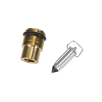 Mikuni flotador Válvula de aguja para VM22 Carburador: Amazon.es: Coche y moto
