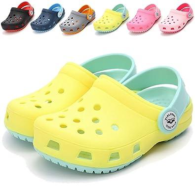 150dd675f7 BENHERO Toddler Kids Boys Girls Classic Clogs- Slip On Garden Water Sandals    Summer Slippers Pool Beach Slides Sandals   Lightweight and ...