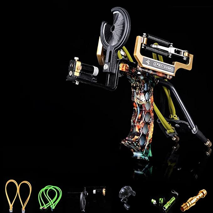 Details about  /Slingshot for hunting Lazer High level Precision Instrument Outdoor Catapult