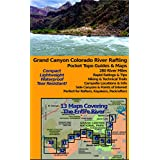 dnally Grand Canyon Colorado River Rafting Pocket Topo Guides & Maps (12x18 Tear-Resistant/Waterproof)