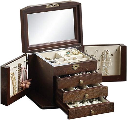 Cajas para joyas Caja De Joyería Caja De Joyería Caja De ...