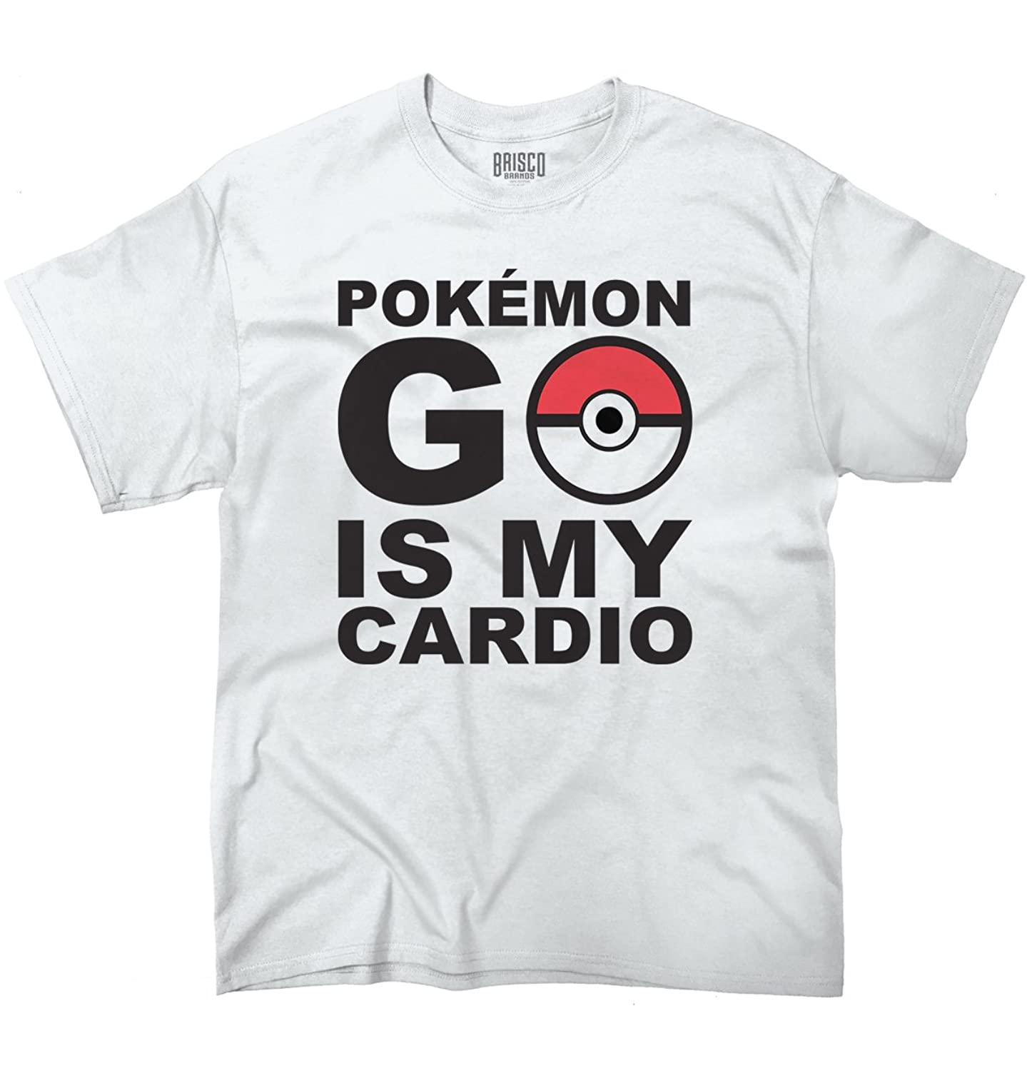 Funny Pokemon GO is my Cardio Pokeball Humorous Graphic Gamer T-Shirt Tee